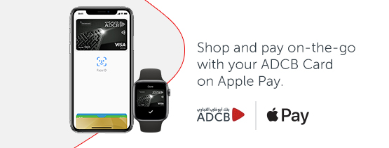 Introducing ADCB Cards with Apple Pay