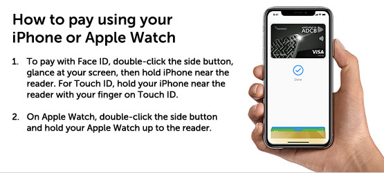 pay using iphone watch