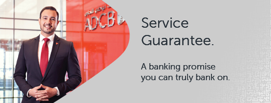 Service Guarantee from ADCB