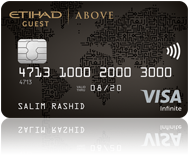Etihad credit and debit cards
