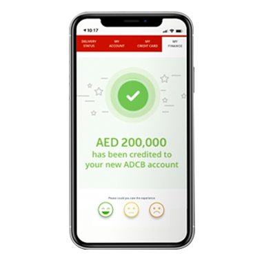 Get a Personal Loan within 10 minutes through the ADCB Hayyak app